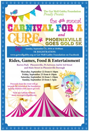 2016 Carnival for a Cure and 5K Run/Walk @ Reeves Park Phoenixville, PA | Phoenixville | Pennsylvania | United States