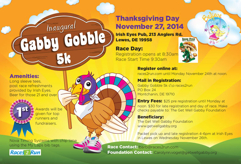 Gabby Gobble 5k @ Irish Eyes Pub | Steamboat Springs | Colorado | United States